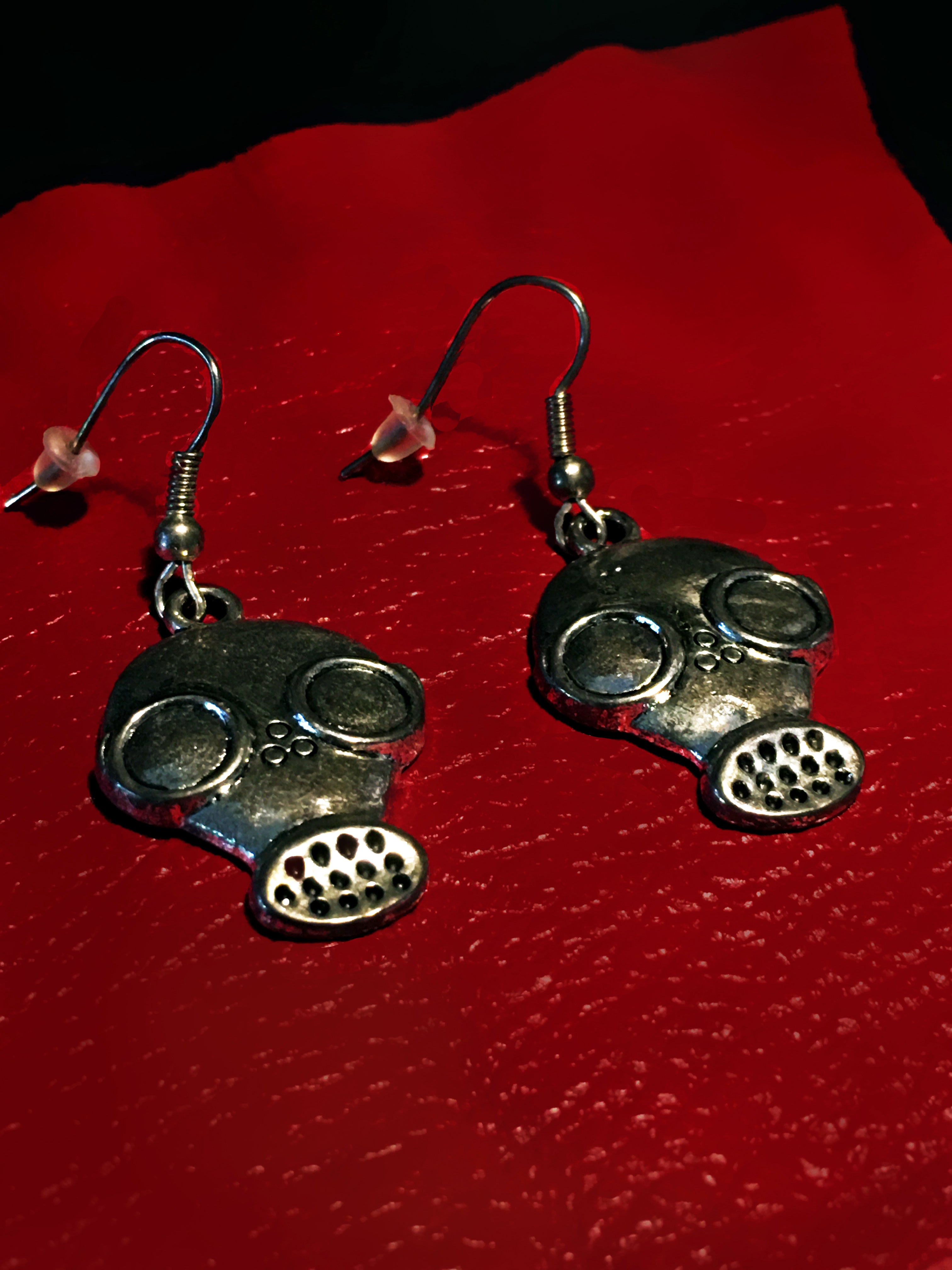 GAS MASK earrings