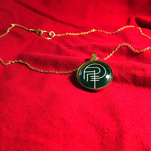 PREY FOR DAY SIGIL necklace (gold)
