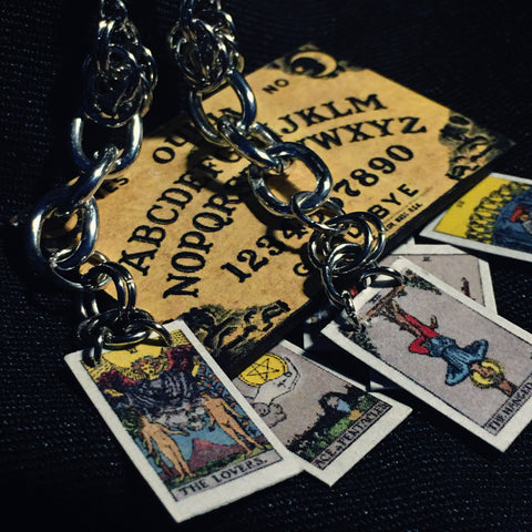 MINI TAROT CARD (major arcana) earrings