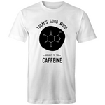 'Coffee Molecule' Men's Crew Tee
