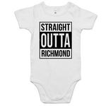 'Straight Outta Richmond' Unisex Baby Romper
