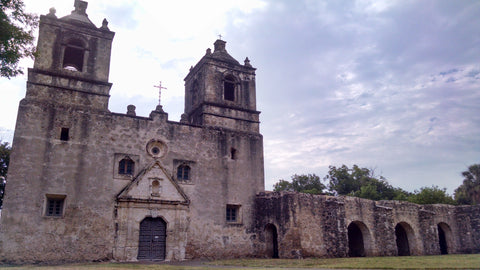 San Antonio's Mission Concepcion small but interesting