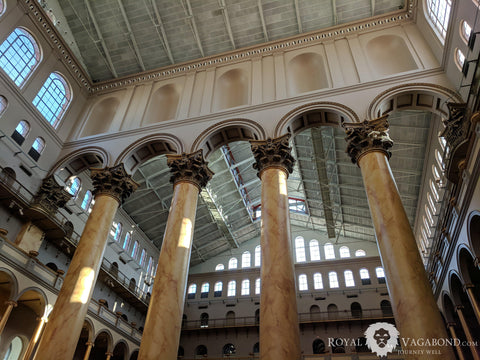 National Building Museum features stunning architecture, marginal exhibits