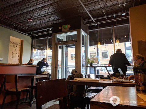 Boulder's Ozo Coffee a perfect place to spend a wintry downpour
