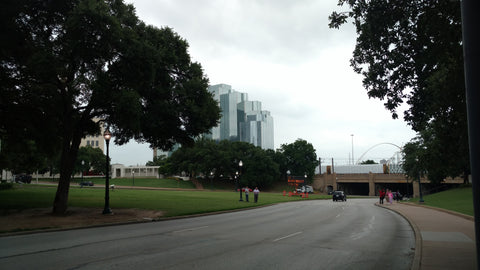 Dealey Plaza National Historic Landmark District is smaller than you think, great with Sixth Floor Museum