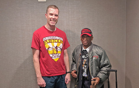 Chance meeting with surviving Tuskegee Airman