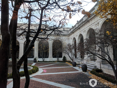 DC's Freer-Sackler Gallery offers multi-exhibit galleries and great setting for learning