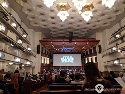 Star Wars with Live orchestra for the Win