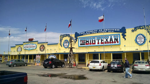 Amarillo's Big Texan Steak Ranch a historic novelty feelin' left behind