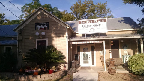 Cibolo's Emily Place Coffee Shop is warm and cozy, just like a coffee spot should be
