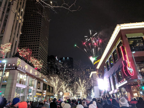 New Year's Event on Denver's 16th Avenue is a lot of fun