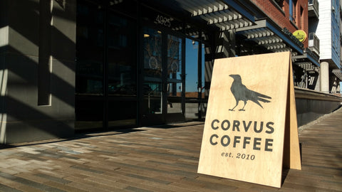 Centennial's Corvus Coffee has great vibe, moderate coffee