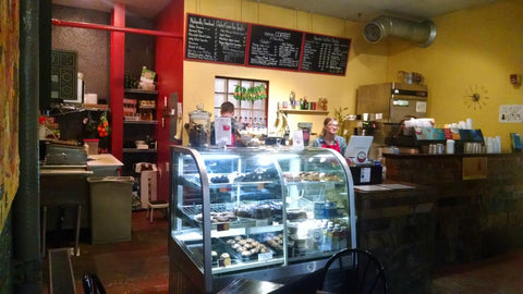 mmm...COFFEE! Paleo Bistro is hidden Coffee Nook Perfect for Denver Art Scene