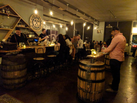 Axe and the Oak Whiskey House a whiskey gem beneath Colorado Spring's Bristol Brewery