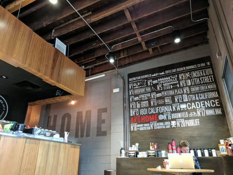 ink! Coffee in Denver's industrial district boasts flavor, atmo