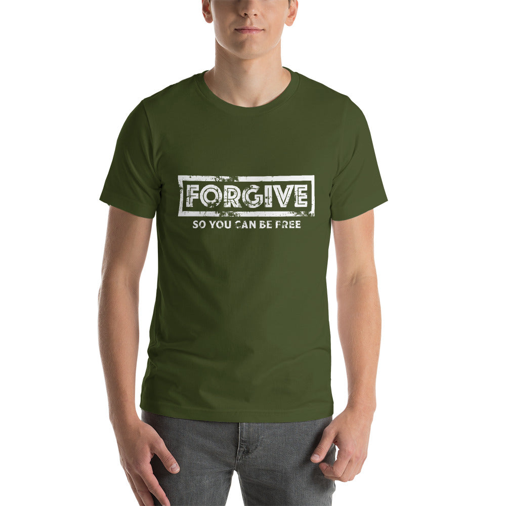 """Forgive - So you can be Free"" Short-Sleeve Unisex T-Shirt"
