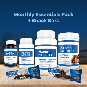 Monthly Essentials Pack Plus Snack Bars