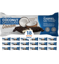 Load image into Gallery viewer, <span><b>MCT</b> + SNACK BAR</span> Coconut Chocolate <i>Dream</i>