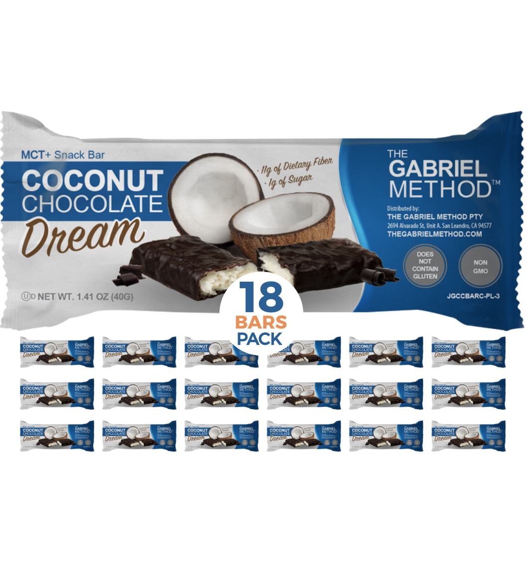 <span><b>MCT</b> + SNACK BAR</span> Coconut Chocolate <i>Dream</i>