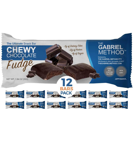 <span><b>The Ultimate</b> Snack Bar</span> Chewy Chocolate <i>Fudge</i>