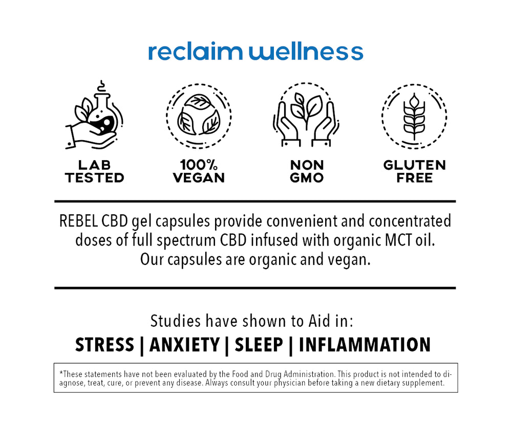 Complete Wellness - CBD Capsules Full Spectrum (30ct / 35mg Each)