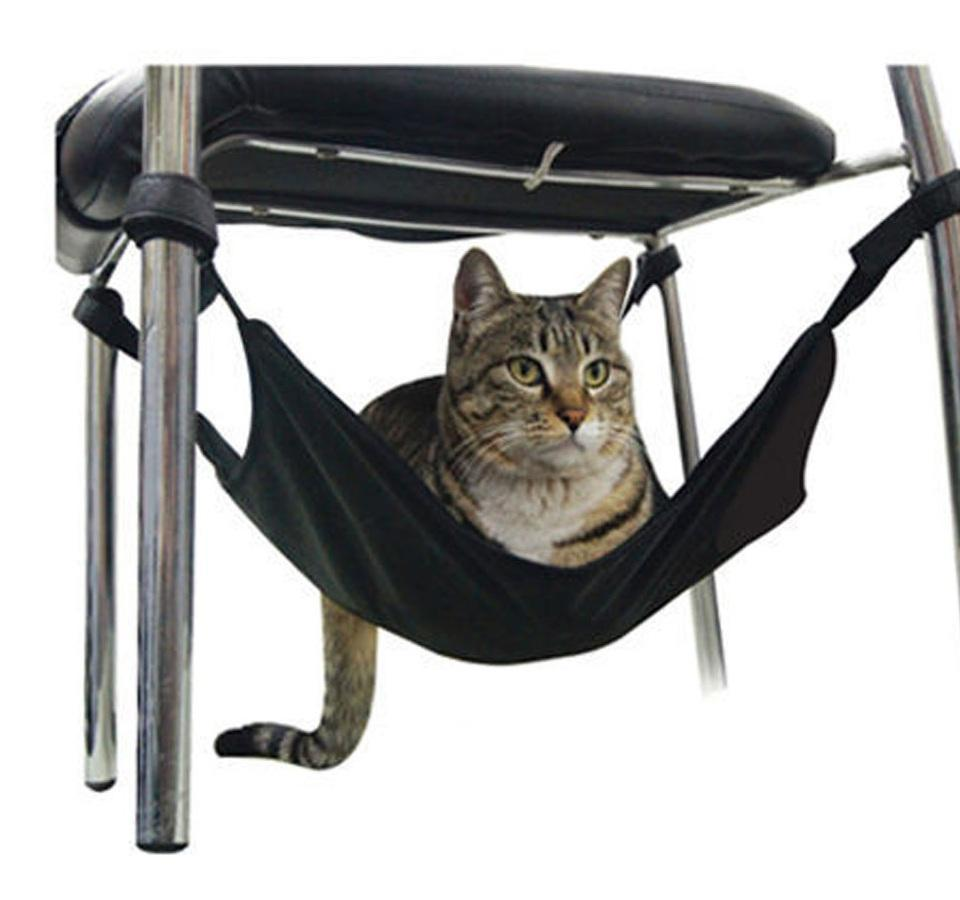 Under Chair Cat Hammock - Click Shopping