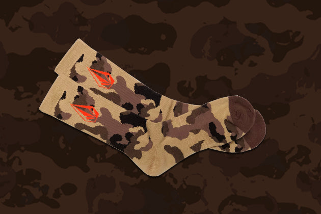 Free Exclusive Camo Socks on orders $150+