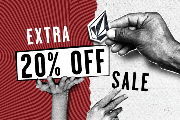 Last Day! Extra 20% Off Sale