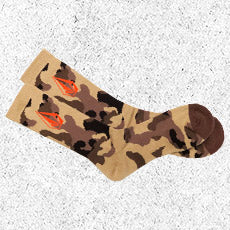 Free Exclusive Camo Socks on orders $125+ cart