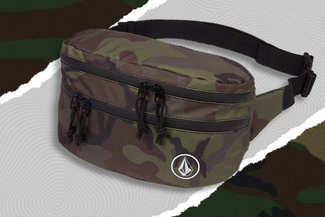 Free Camo Waisted Pack Cart