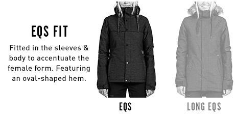 Womens Snow Jacket EQS Fits