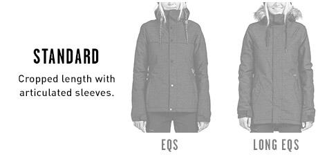 Womens Snow Jacket Standard Fits