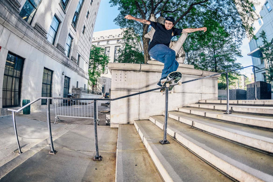 Skate Team Takes Over New York City