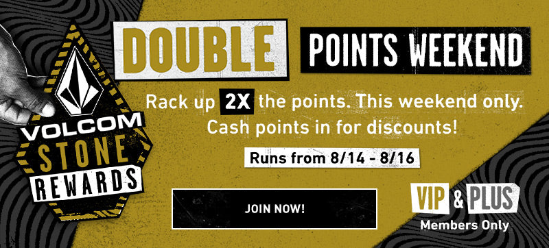 Members Double Points Weekend