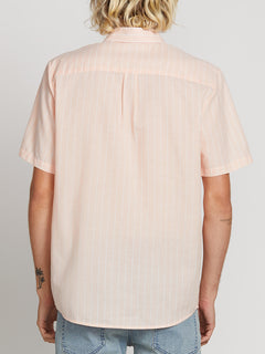 Rilee Short Sleeve Shirt In Barbados, Back View