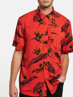 FLORAL ERUPTER S/S - LAVA ROCK RED (A0432001_LRR) [2]