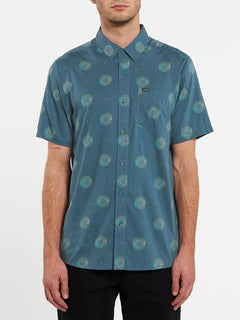 Inner Valley Short Sleeve - Rincon Blue (A0432004_RNC) [F]