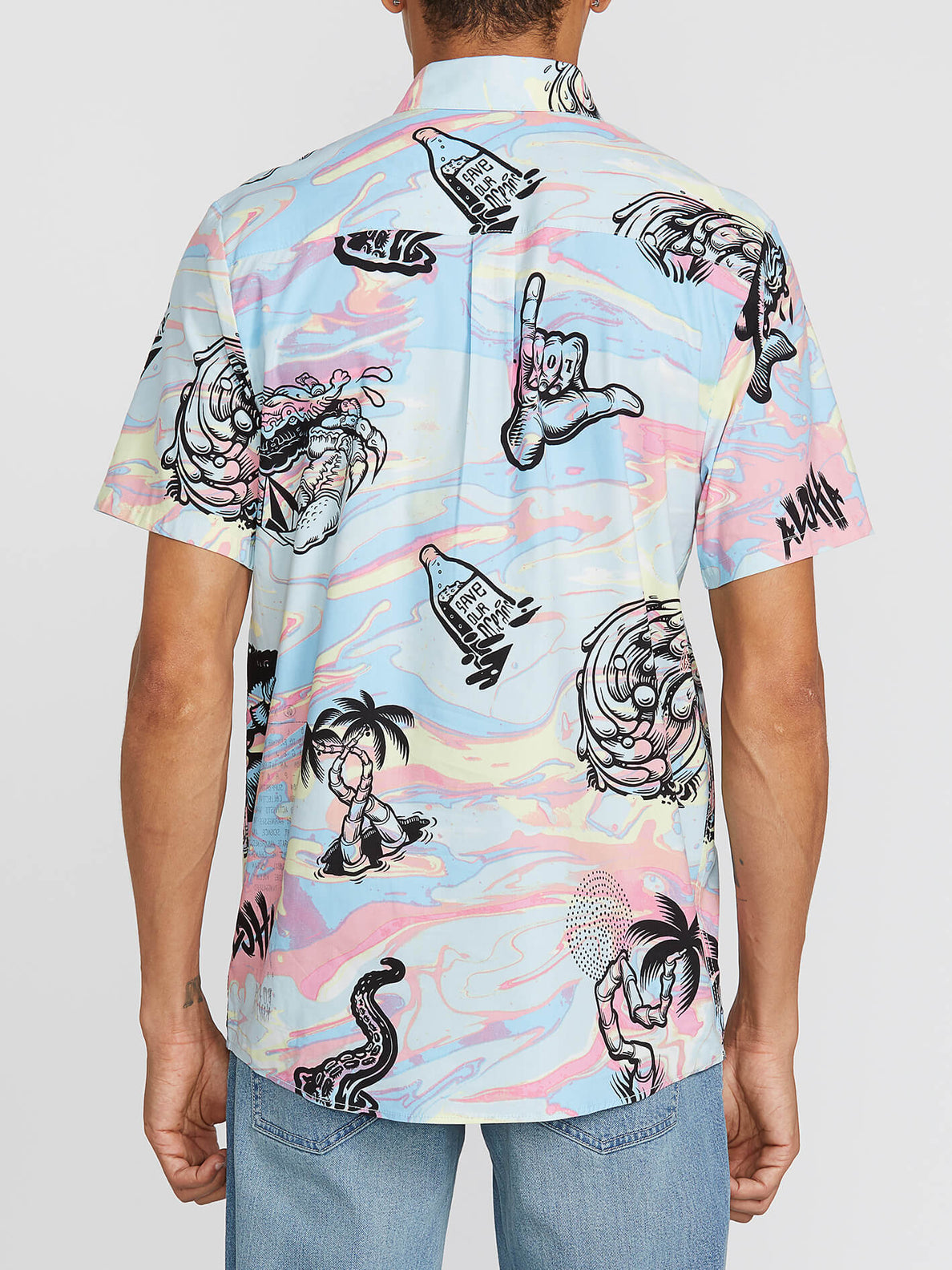 Save Our Oceans Short Sleeve - Multi (A0441906_MLT) [B]