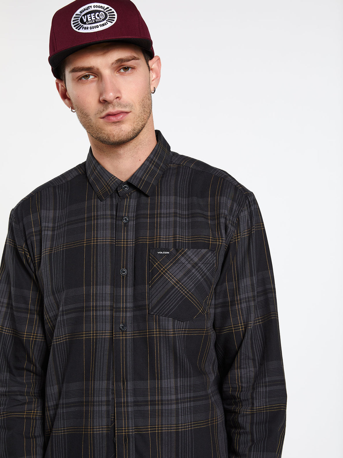 BASSMENT FLANNEL L/S (A0512001_BLK) [18]