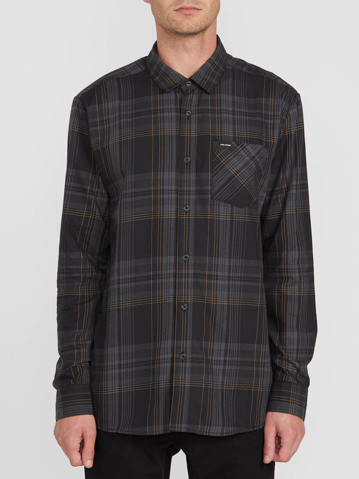 BASSMENT FLANNEL L/S (A0512001_BLK) [F]
