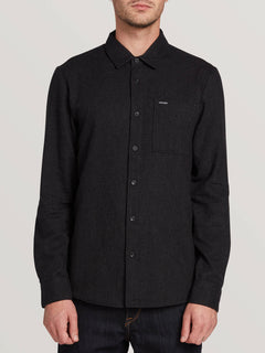 Caden Solid Long Sleeve (A0531806_BLK) [F]