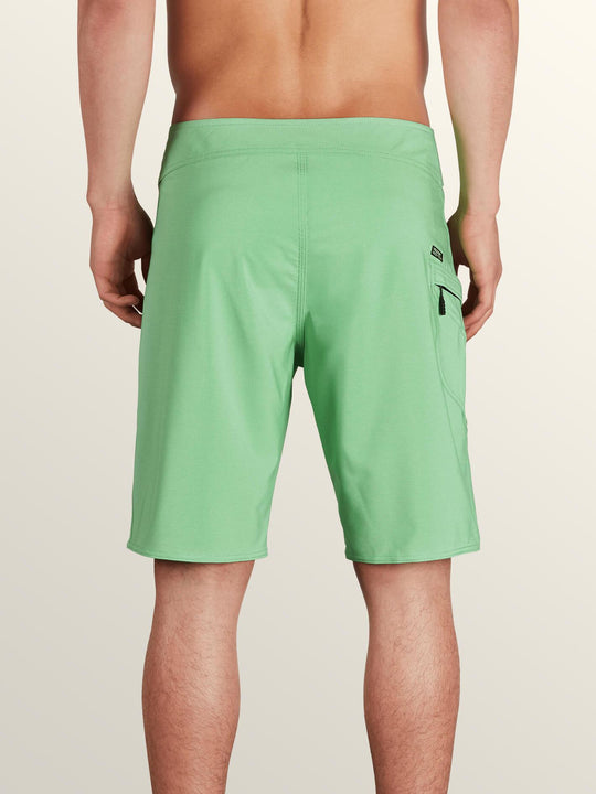 Lido Solid Mod Boardshorts - Poison Green