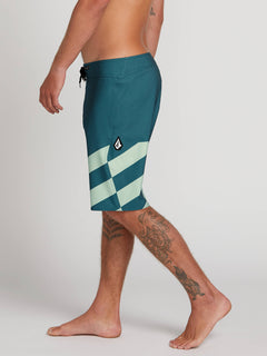 Stone Plus Mod Boardshorts In Sea Navy, Alternate View