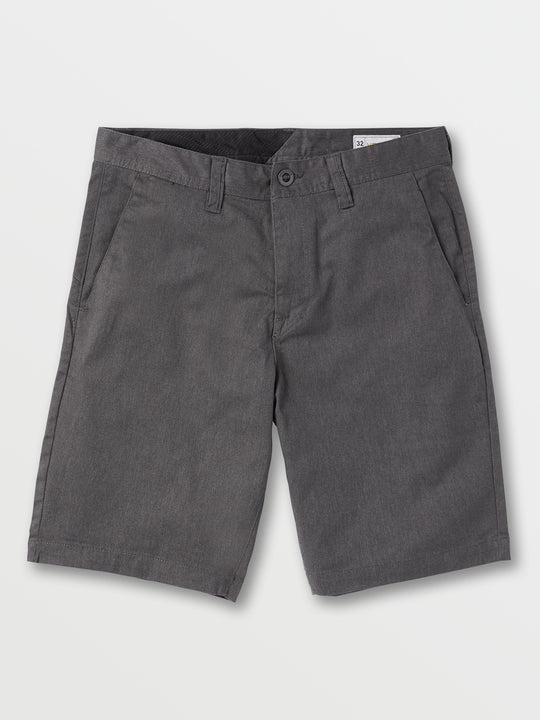 Frickin Chino Shorts - Charcoal Heather (A0911600_CHH) [F]