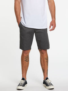 Frickin Modern Stretch Short - Charcoal Heather (A0911601_CHHK) [1]
