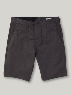 FRCKN MDN STRCH SHT - CHARCOAL HEATHER (A0911601_CHHK) [F]