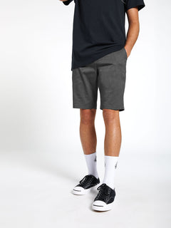 Frickin Modern Stretch Shorts - Charcoal Heather (A0911601_CHH) [20]