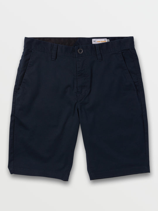 Frickin Modern Stretch Shorts In Dark Navy, Front View