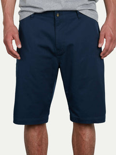 VMonty Stretch Shorts - Dark Navy