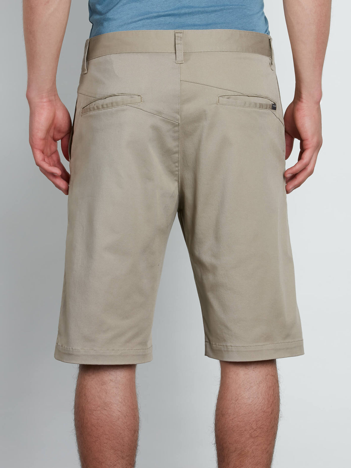 VMonty Stretch Shorts - Khaki